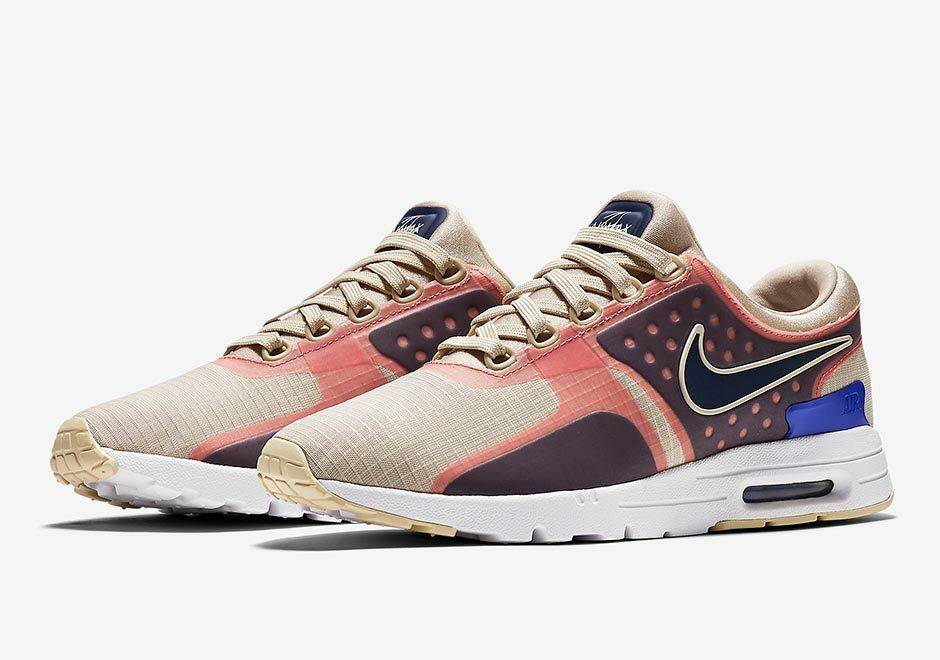 Nike WMNS Air Max Zero SI OATMEAL/BINARY BLUE-WHIT Price reduction