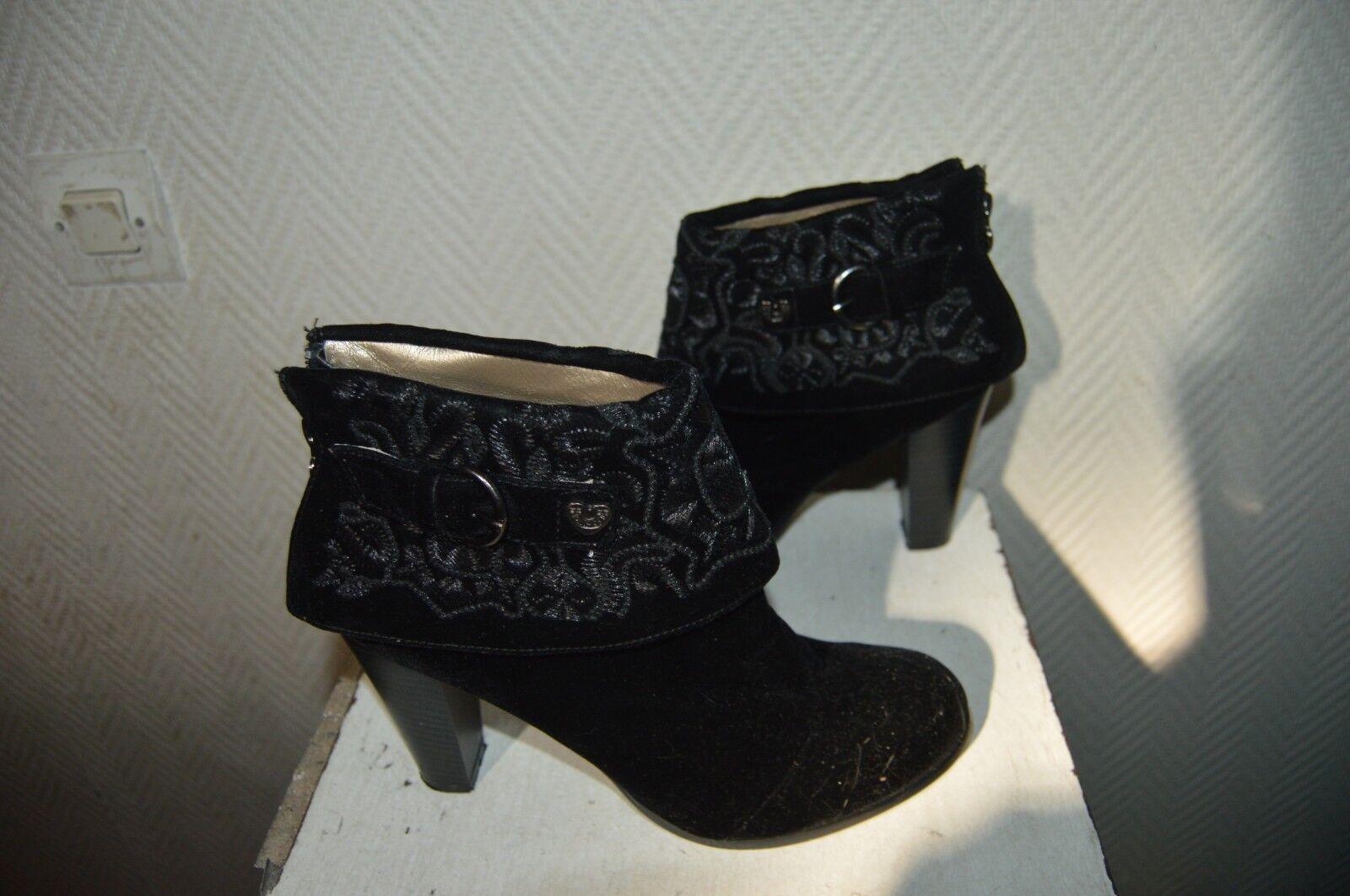 CHAUSSURE BOTTINES TALON  LOLLIPOPS  size 37  BOOTS SHOES shoes STIVALI