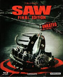 Saw 1 7 blu ray final edition unrated