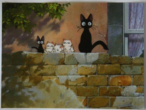 Kiki/'s Delivery Service Jiji Poster Small Photo Paper Studio Ghibli Cat 21 x28cm