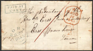 1845-IRISH-WRAPPER-ON-PAGE-039-PAID-AT-GORT-039-CANCEL-TO-EAST-INDIA-COMPANY-LONDON