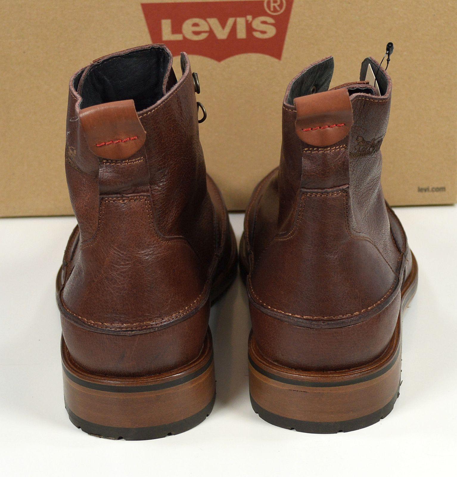 Braun Herren Levis Schuhe Sale Leder EHWD9Y2I