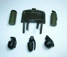 "Gi Joe Dragon 25th 1:6 10 Black Grenade Accessory Lot for 12/"" Action Figure"