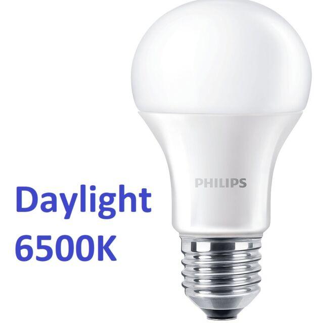 PHILIPS Lámpara Led E27 Bombilla 12,5w=100w Blanco De Luz Del Día 6500k Solar