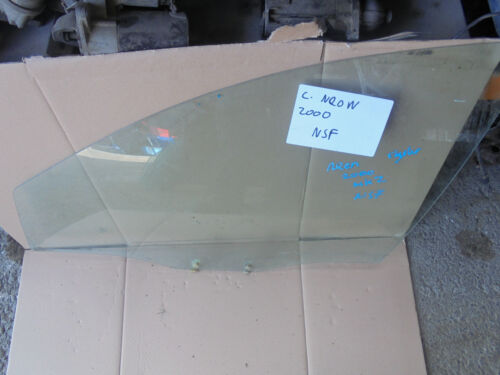 PASSENGERS FRONT DOOR GLASS//WINDOW CHRYSLER NEON 2000 MK2 NEARSIDE
