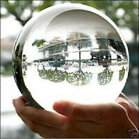 100MM + STAND HUGE ASIAN QUARTZ CLEAR CRYSTAL BALL SPHERE HOT!!!