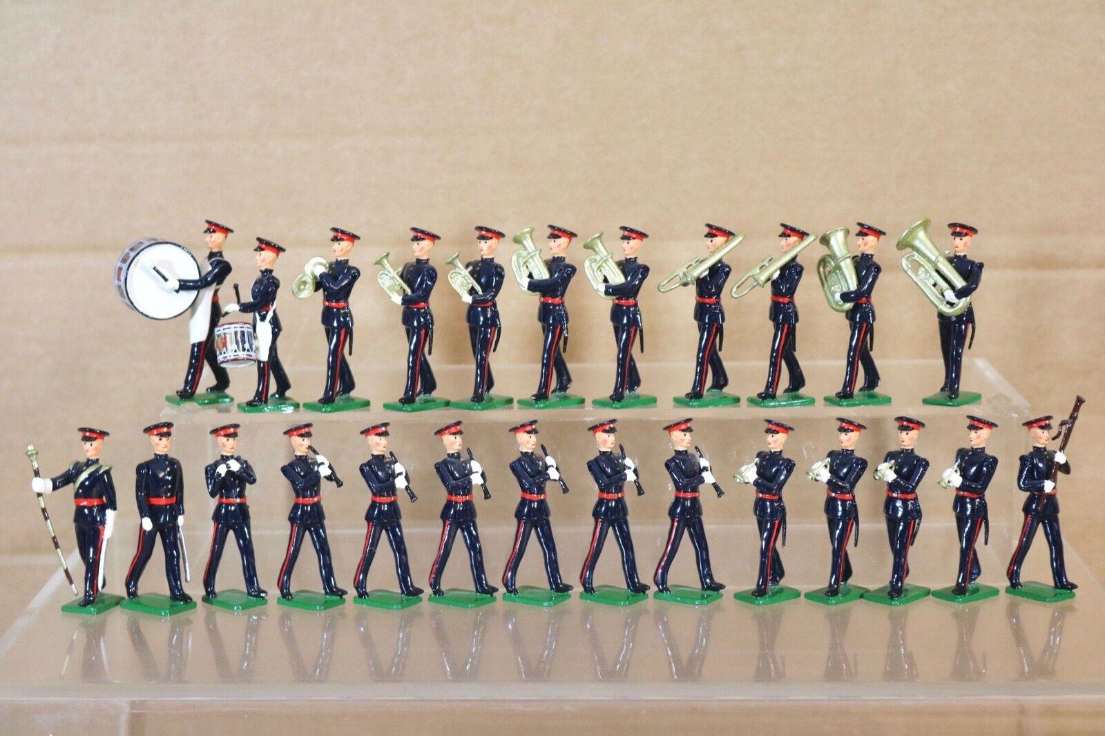 Britains Re Fundido II Guerra Mundial 25 X Projoección Regimiento en Vestido