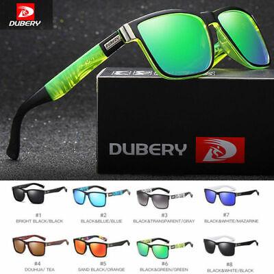 DUBERY Herren Sonnenbrille Polarisiert Brillen Sport UV400 Pilotenbrille Neu DE