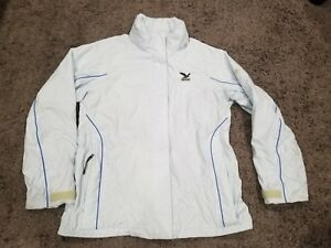 huge selection of cb226 407b5 Details about Salewa Mountain Technology Powertex Women Jacket Coat Size XL  Light Blue Wrinkle