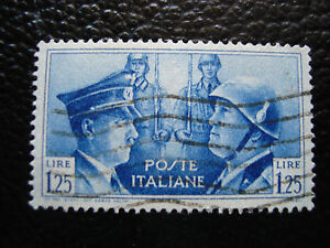 Italy-Stamp-Yvert-and-Tellier-N-437-Obl-A12-Stamp-Italy-E