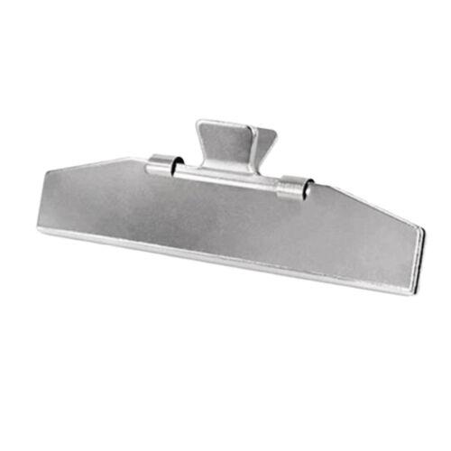 Nouvelle alliage d/'aluminium Tir à L/'Arc Flèche Plumage de flèches Jig pinces remplacement-argent