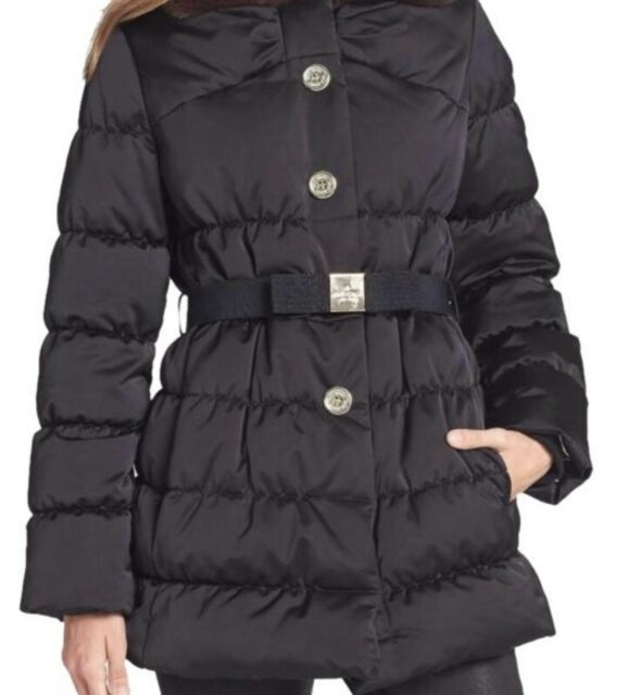 b3ded143b Kate Spade NY Womens Black Becky Puffer Down/feather Coat XS