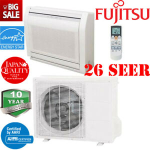 Fujitsu 9rlff 26 Seer 9000 Btu Air Conditioner Heat Ductless Mini Split Ebay