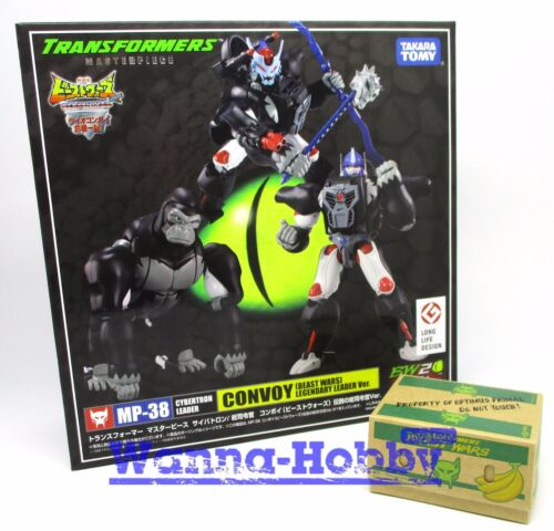 77523 TRANSFORMERS MP-38 BEAST WARS CONVOY Legendary Leader Optimus Prime