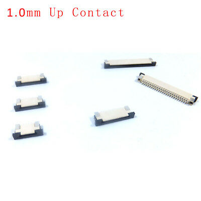1.0mm FFC//FPC Flat Cable Connector 4//8//12//14P-30P Drawer Type Up//Bottom Contact