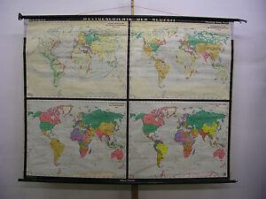 Cartina Muta Del Mondo Completamente Bianca.Dettagli Su Poster Per Pareti Scolastiche Bella Vecchio Cartina Del Mondo Storia 212x163cm