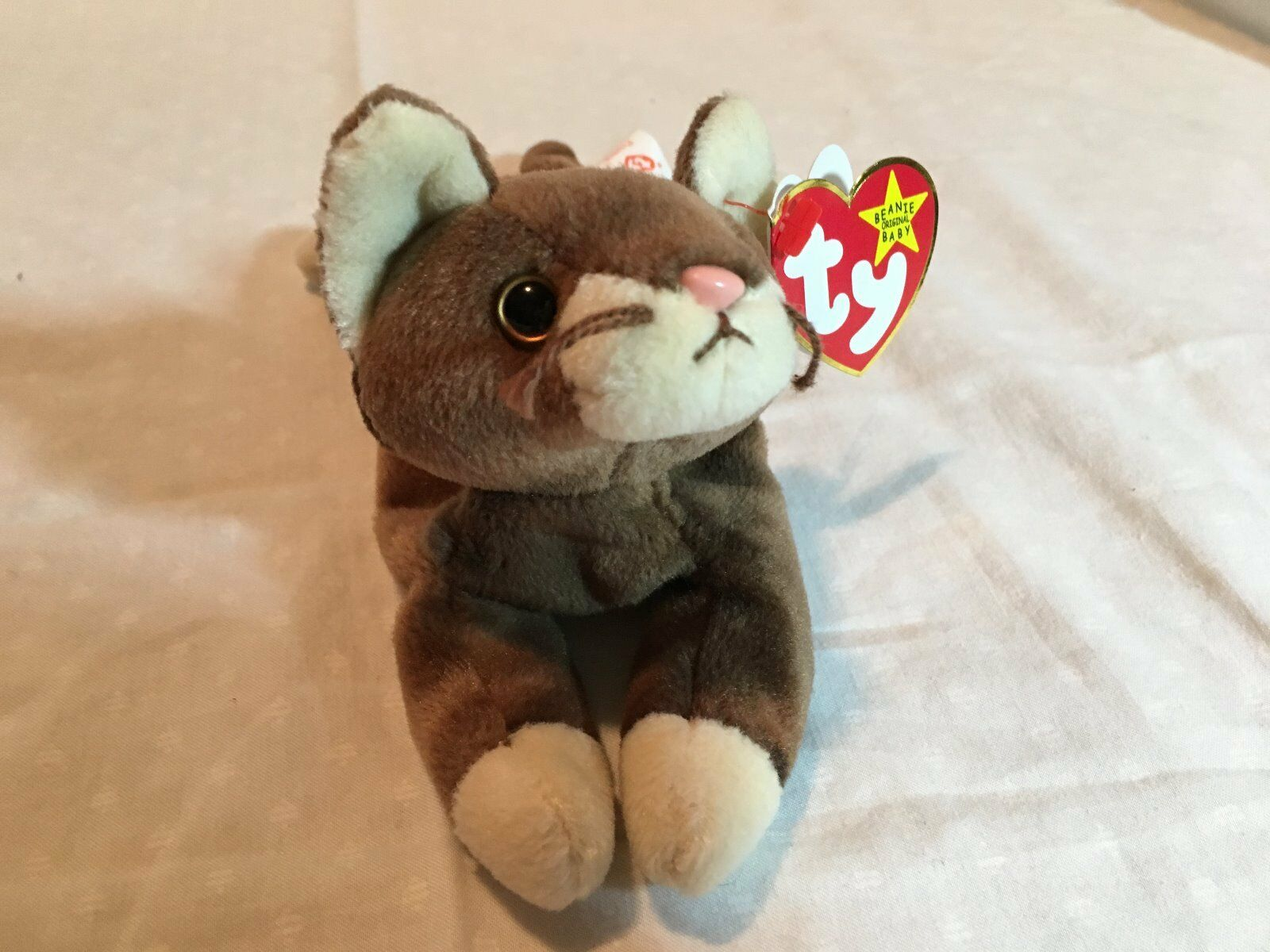 1997 RETIRED- RARE WITH ERRORS Pounce Beanie Baby