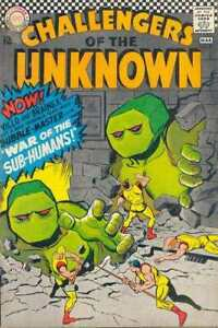 Challengers-of-the-Unknown-1958-series-54-in-VG-condition-DC-comics-hd