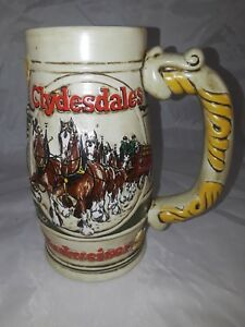 Anheuser-Busch-Budweiser-Mug-Stein-Ceramarte-Brazil-Promotional-Vintage