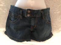 Women's Old Navy Stretch Shorts Ultra Low Waist Size 6