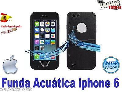 "Funda Carcasa iPhone 6 4.7"" Waterproof Anti Impactos Sumergible igual lifeproof"