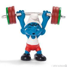 SCHLEICH 20737 - Puffo pesista Olimpiadi Londra 2012 -Germany