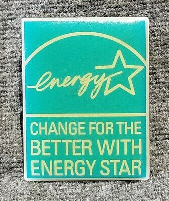LMH PINBACK Pin ENERGY STAR Change for the Better HOME DEPOT Employee Slogan b
