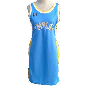 0e929342481 NBA Women s MPLS Hardwood Classics Los Angeles Lakers Jersey Dress ...