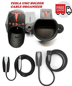 Tesla Charger Cable Organizer Holder Wall Mount For Model 3 X S