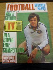 27/08/1980 CALCIO SETTIMANALE DI NOTIZIE: Magazine, vincere un colore TV in un super libero compe