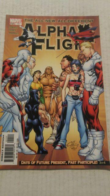 Alpha Flight #11 March 2005 Marvel Comics Lobdell Henry Morales