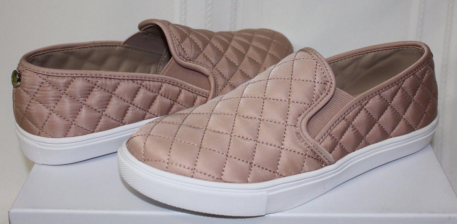 Steve schuhe Madden Ecntrcqt Ecentric Slip On Sneaker schuhe Steve Blush Quilted Fabric New d99bca