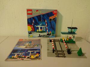 (go) Lego System 4532 Manuel Passage à Niveau/neuf Dans Sa Boîte & Ba 100% Complet D'occasion-afficher Le Titre D'origine