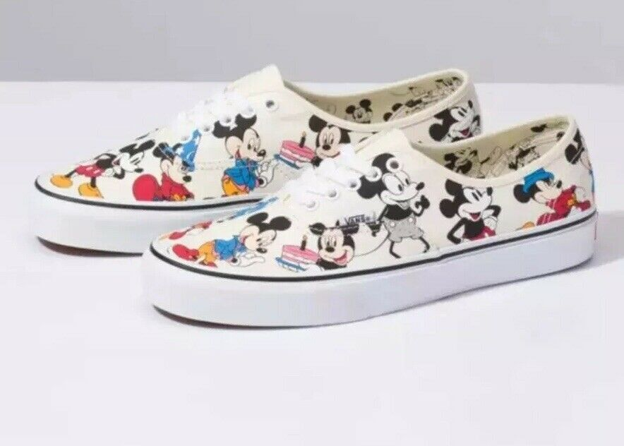 Disney X Vans Micave's Birthday Authentic sautope Micave Mouse 90th Birthday NIB Sautope classeiche da uomo