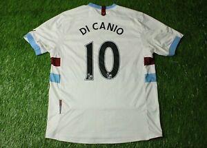 WEST HAM UNITED DI CANIO 2010/2012 FOOTBALL SHIRT JERSEY ...