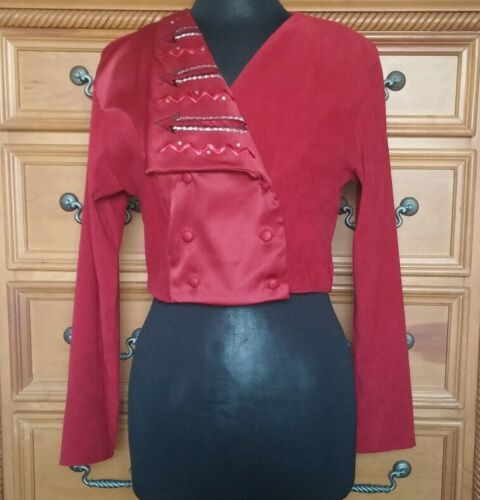 1849 Authentic Ranchwear Red Cropped Jacket - Size