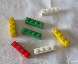 LEGO-Brique-Bundle-25-pieces-taille-1x4-Job-lot-Genuine-LEGO-RANDOM-Couleurs