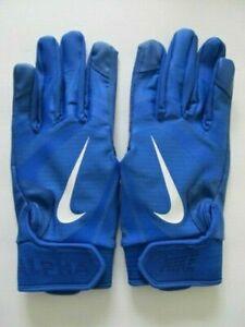 LibéRal Nike Alpha Huarache Edge Gants Batteur Jeunesse Medium Royal Blanc/bleu