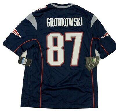 New Rob Gronkowski Med Mens New England Patriots Super Bowl 53 Nike Game Jersey 193153561808 | eBay