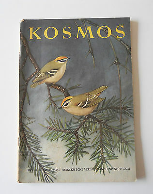 Kosmos Heft 12/1955 - Inhalt S.foto 2 Deutsch W.keller Handweiser Naturfreunde