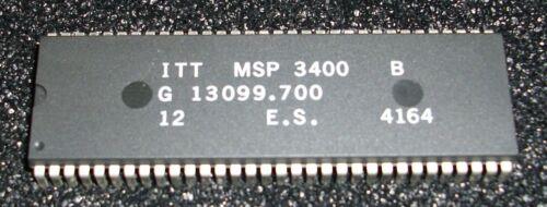 1 pc ITT MSP 3400 B s-dip64 Multi standard sound processor for tv or vidéo