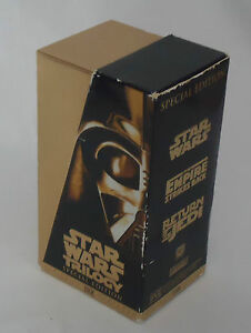 Star-Wars-Trilogy-Special-Edition-1997-VHS-Tapes-Boxed-Set-of-3