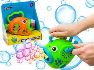 Seifenblasen Maschine Fisch Spielzeug Bubble Kinder Spielzeug Garten