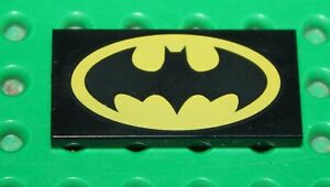 Lego-Black-Tile-with-Batman-Logo-Oval-Pattern-87079pb317-set-10753-10724-10737
