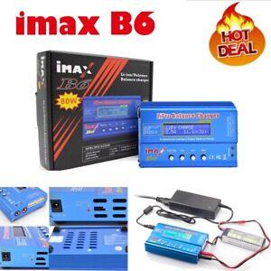 iMAX-B6-80W-Netzteil-Ladegeraet-Lipo-NiMh-Akku-Batterie-Balance-Charger-Digitale