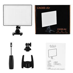Cámara Profesional CN30 LED Luz de vídeo de Aire para Canon Nikon Panasonic DSLR DV Videocámara