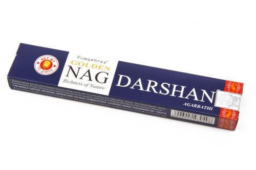 Vijayshree-Golden Nag inciensos 15g