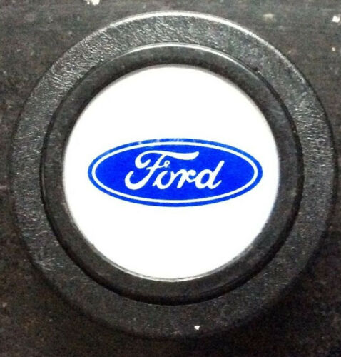 New horn push avec FORD LOGO Conçu pour s/'adapter moderne Aftermarket steering wheels
