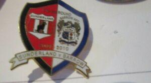 SUNDERLAND BARROW  COLOURED LIMITED EDITION 2009/2010  VERY RARE CUP BADGE