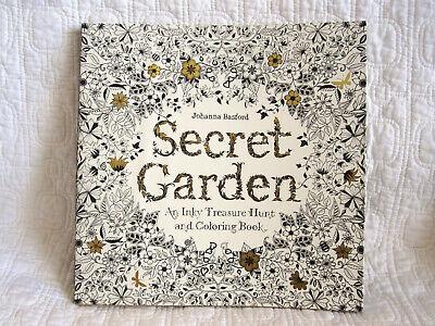 - Secret Garden Coloring Book By Johanna Basford, Brand New, Stunning  9781780671062 EBay